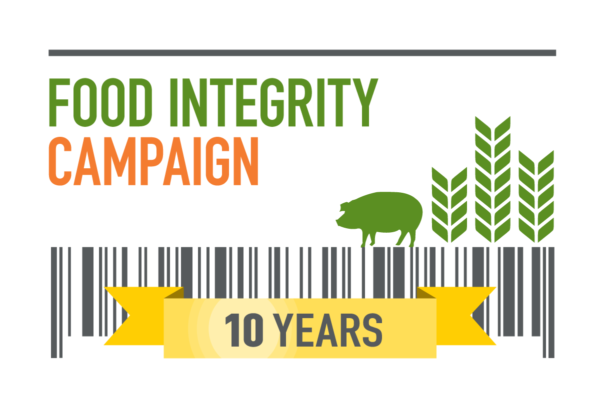logo, Food Integrity Campaign